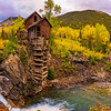 Crystal Mill Sunrise Large Panorama