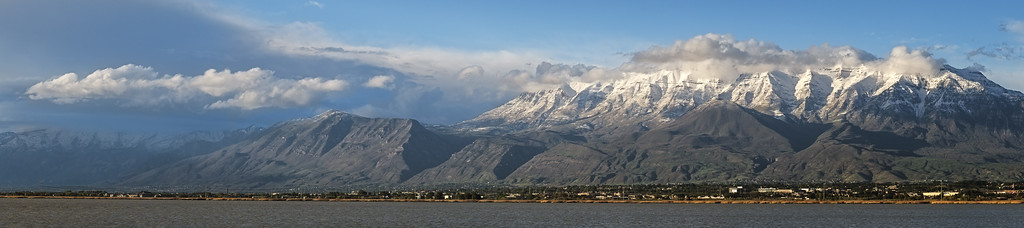 Timanogos and Utah Lake Pano