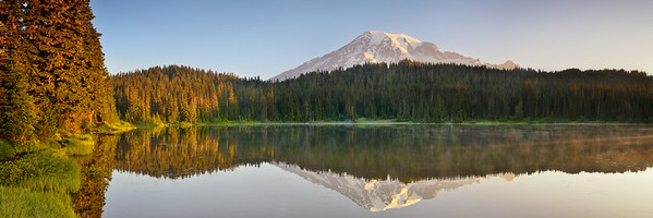 Mount Rainier and Reflection Lake