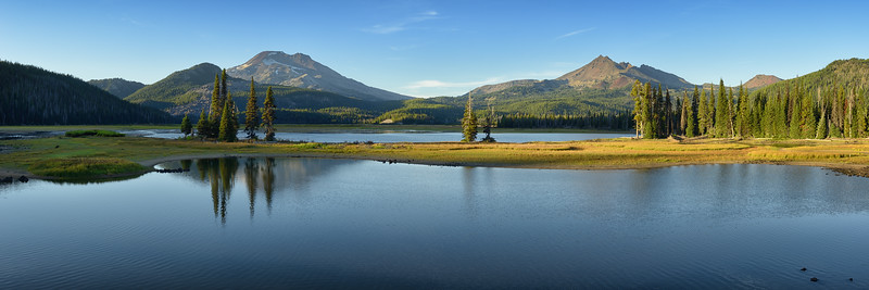Evening at Sparks Lake
