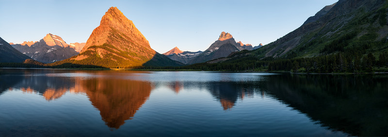 Mount Grinnell and Swiftcurrent Lake