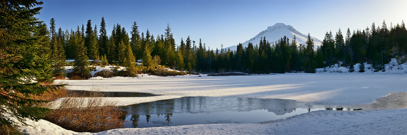 Mount Hood from Mirror Lake