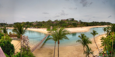 Sentosa Island Beach Panoramic