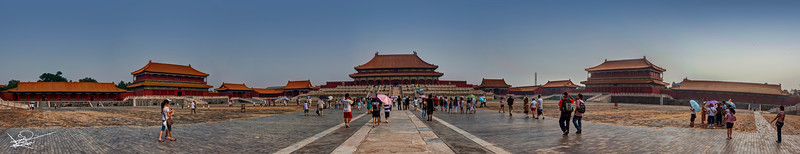 The Forbidden City Panoramic, Beijing, China