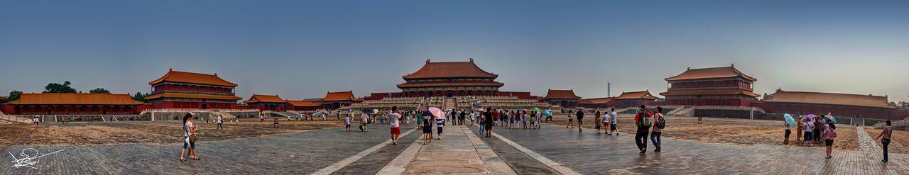 The Forbidden City Panoramic, Beijing, China