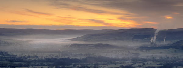 Hope Valley MIsty Sunrise