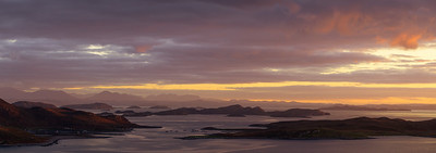 Sunset Over the Summer Isles