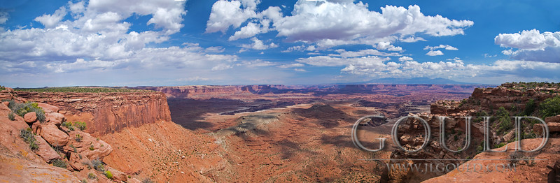 Canyonlands National Park Panoramic