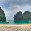 Maya Beach Panoramic, Koh Phi Phi Noi, Thailand