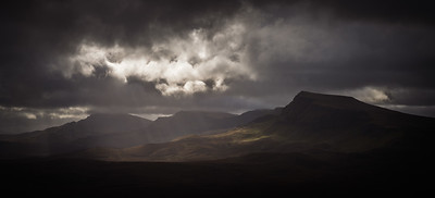 Light Cloud Over Trotternish Ridge