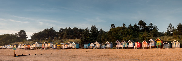 Beach Hut Sunrise