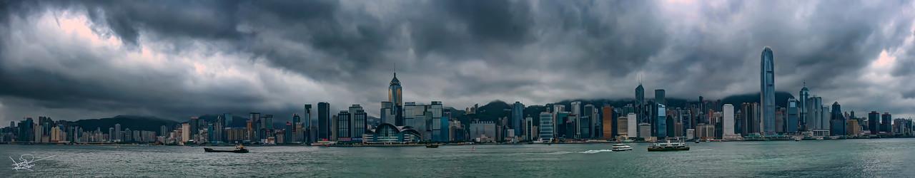 Victoria Harbour, Hong Kong, China