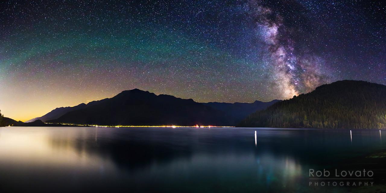 Lake Crescent, Olympic N.P., Washington