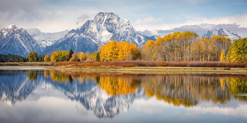 Oxbow Bend along the Snake River - Grand Teton National Park, Wyoming