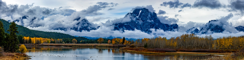 Stormy Morning Tetons