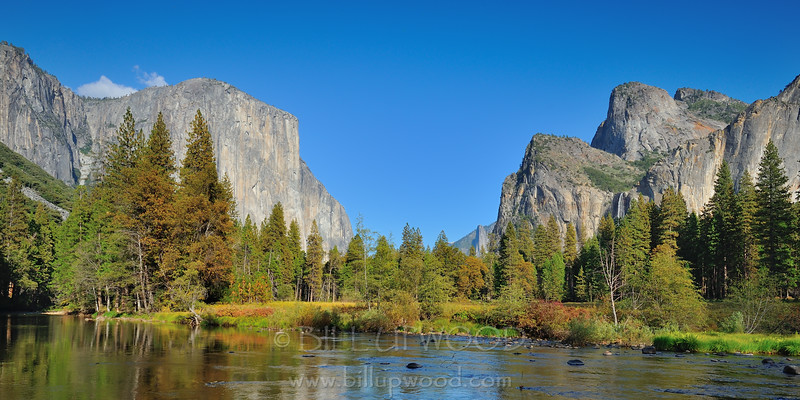 Yosemite Valley and Merced River