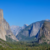 Cloudless Yosemite Valley