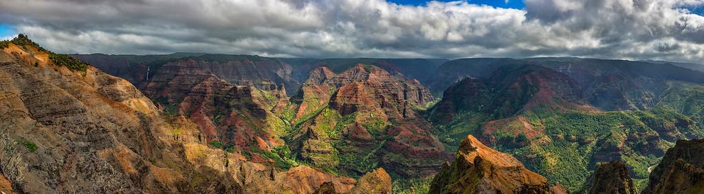 Waimea Canyon Panoramic