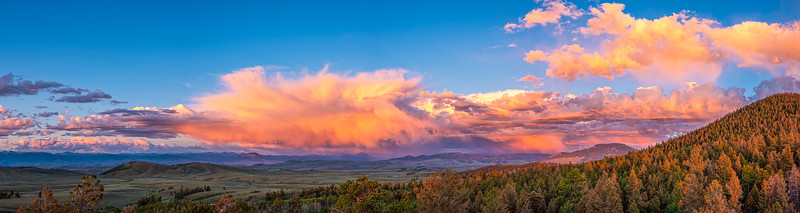 """Wild Clouds"", Gunnison, Colorado"