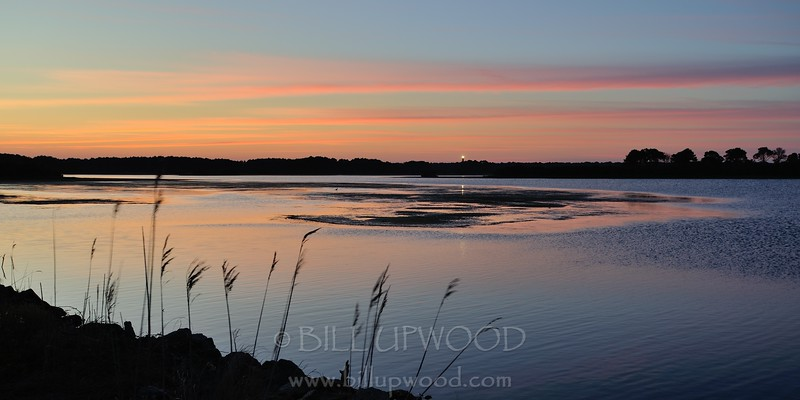 Evening Glow and Assateague Lighthouse