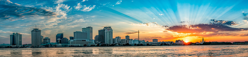 Sunset Over New Orleans