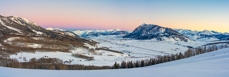 """Crested Butte Rising"""