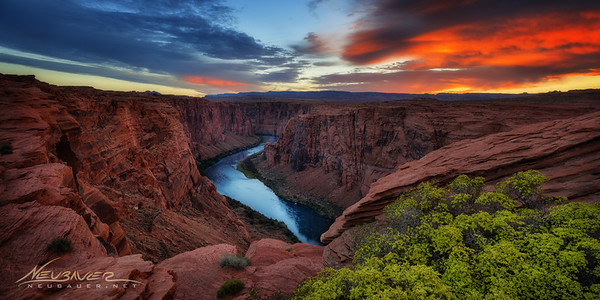 Northern Arizona is a hotspot for Landscape photographers, and for good reason. The canyons are amazing as the Colorado river winds stoically traverses down the maze, bringing life through the state and west to California. <br /> <br /> Surprisingly, this location is just off the main drag where photographers congregate before shooting places like Antelope Canyon and Horseshoe Bend, but I've never seen another photographer at this spot. To me it's as good looking as anything in the area. Am I wrong?