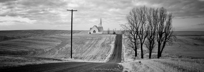 DF.2004 - Zion Methodist Church of Rocklyn, Church Rd., Lincoln County, WA.