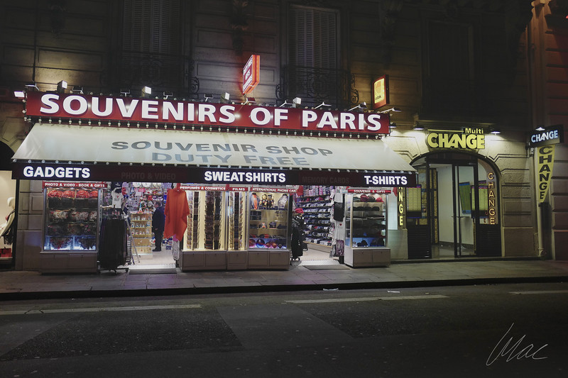 Souvenirs of Paris
