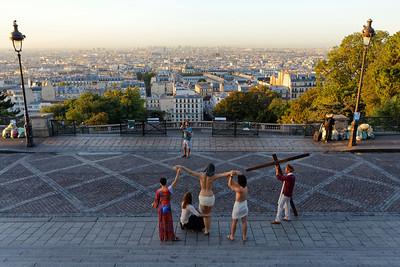 Crucifixion Re-enactment in Montmartre (2)
