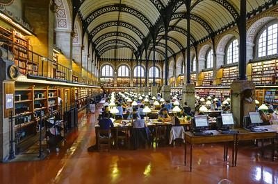 Bibliothèque de la Sorbonne (Inter-University library), University of Paris, France