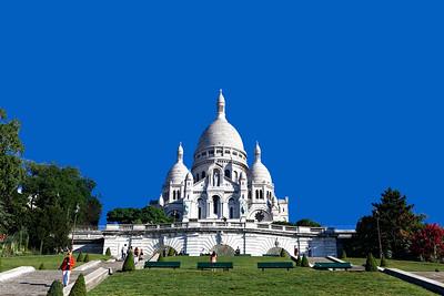Basilica of the Sacred Heart of Paris (Sacré-Cœur Basilica),Roman Catholic church, Montmartre (3)