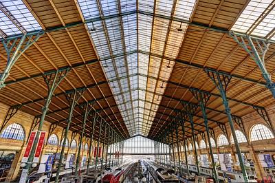 Gare du Nord, (Paris-Nord),SNCF terminus station, Paris (4)