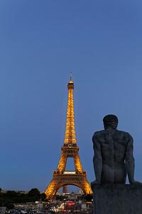 Fontaine du Jardins du Trocadéro & Eiffel Tower, Paris (2)