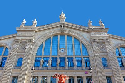Gare du Nord, (Paris-Nord),SNCF terminus station, Paris (2)