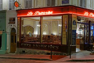 Le Progess Bar, Montmartre, Paris