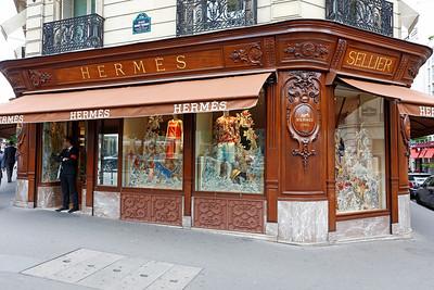Hermès store, George V, Paris