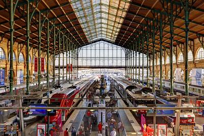 Gare du Nord, (Paris-Nord),SNCF terminus station, Paris (3)