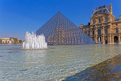 Louvre Pyramid & Louvre Museum, Paris (1)
