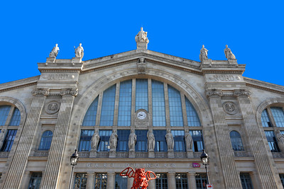 Gare du Nord, (Paris-Nord),SNCF terminus station, Paris (1)