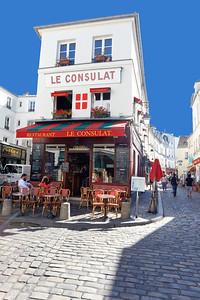 Le Consulat Restaurant, Montmartre, Paris