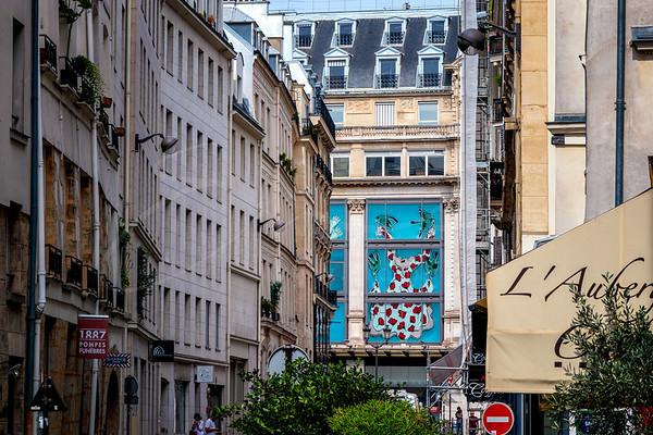 une balade à pied du 7ème au 1er arrondissement
