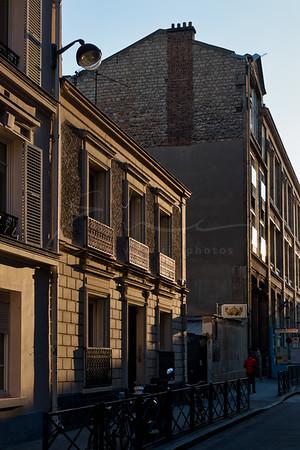 le soleil et l'hombre aux facades | sun and shadow