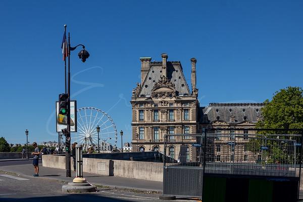 l'année 2019 : le Louvre, la grande roue, les caméras de sécurité et de nombreux chantiers