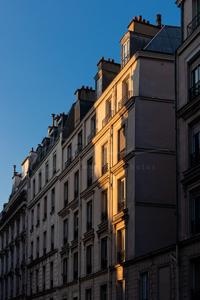 le soleil et l'hombre aux facades | sun and shadow