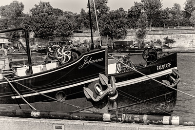 au bord de la Seine | on the banks of the Seine
