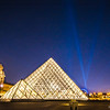 Lights upon the Louvre