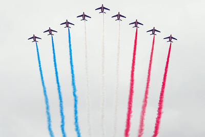 Bastille Day Air Show at the Champs-Elysées