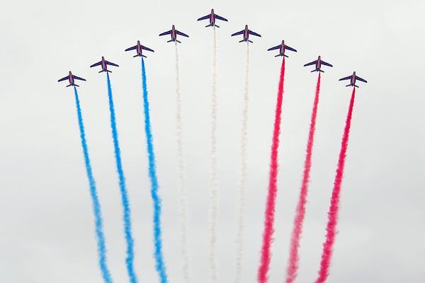 Bastille Day Air Show at the Champs-Elysées