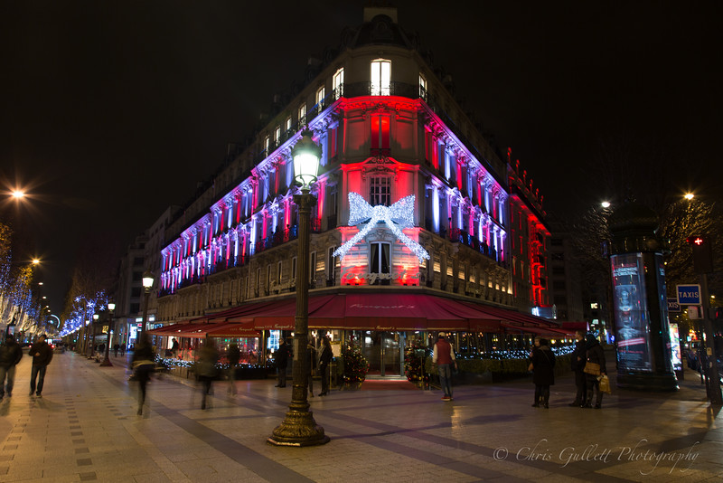 Fouquet's on Champs-Elysees